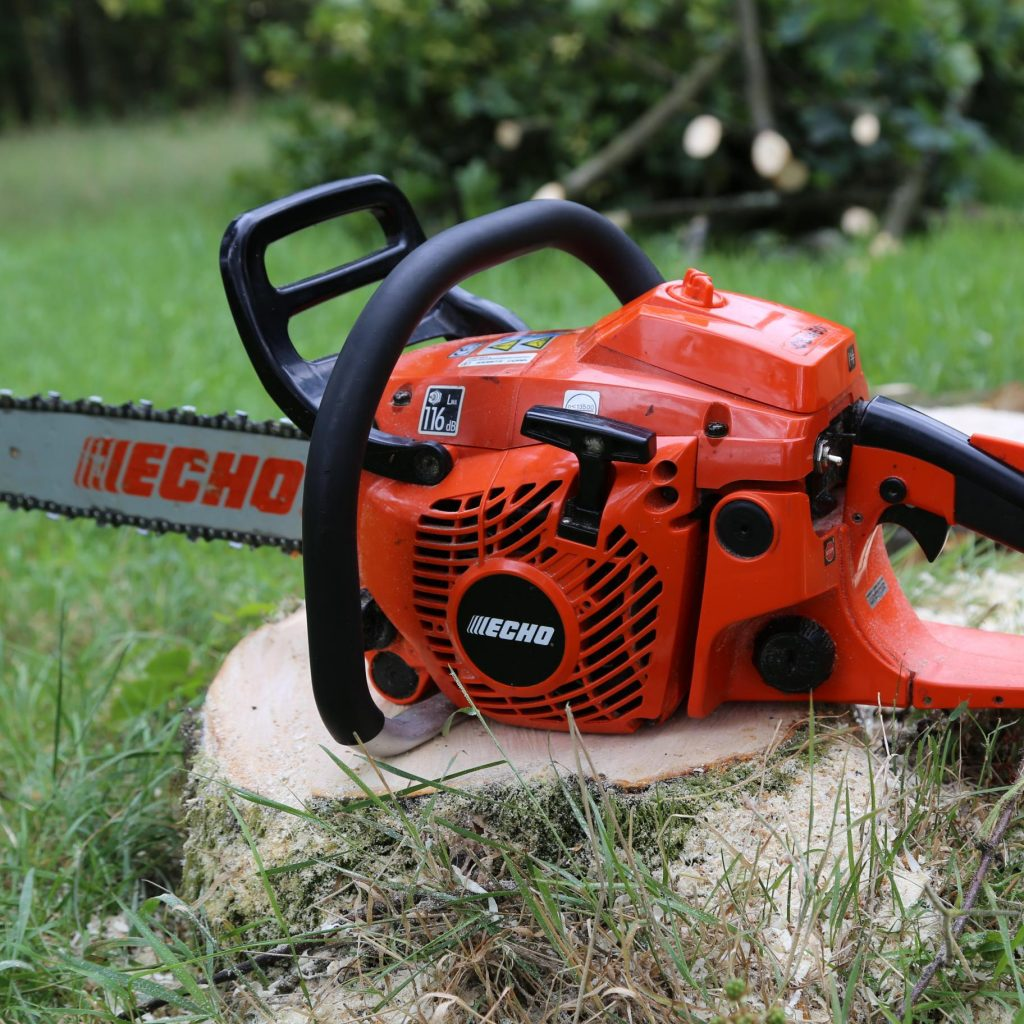 Echo Chainsaws In Use